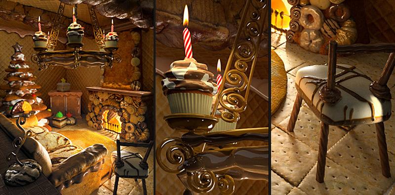 artwork, compozitie 3D, modelare 3d, shaders